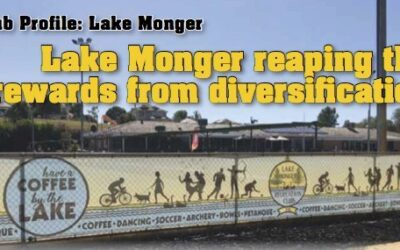 Lake Monger reaping the rewards from diversification
