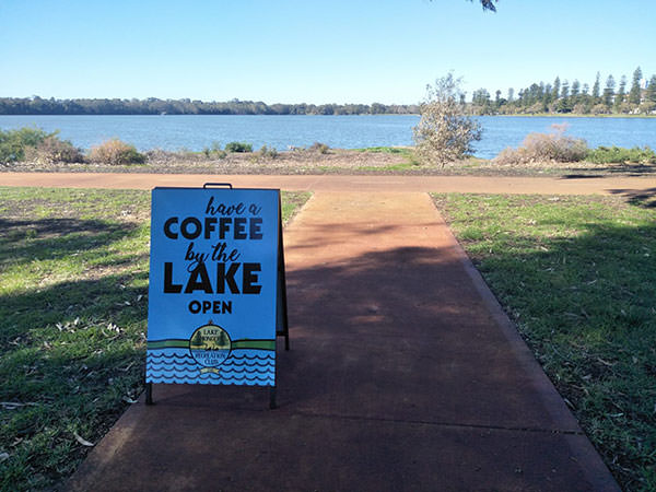 Coffee-by-the-lake
