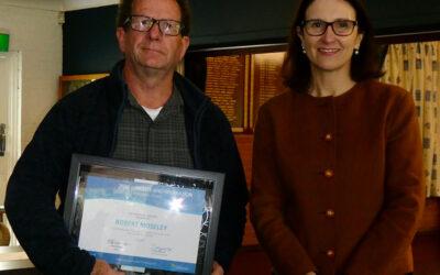 President Robert Moseley Winner – 2020 Community Awards & Recognition Program