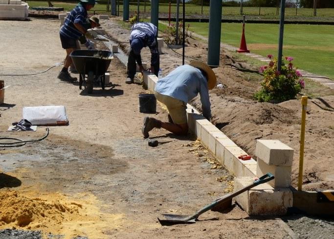 Petanque-area-work